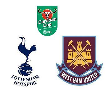 Tottenham vs West Ham highlights | Carabao Cup