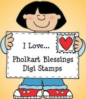 Pholkart Blessings Digi Stamps