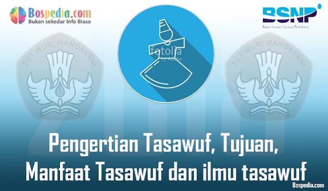 Pengertian Tasawuf, Tujuan, Manfaat Tasawuf dan ilmu tasawuf