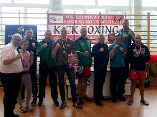 gwardia zielona góra sekcja kickboxingu