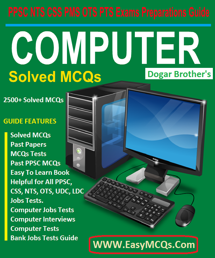 Dogar Computer Science Solved MCQs PDF book PPSC - Easy MCQs