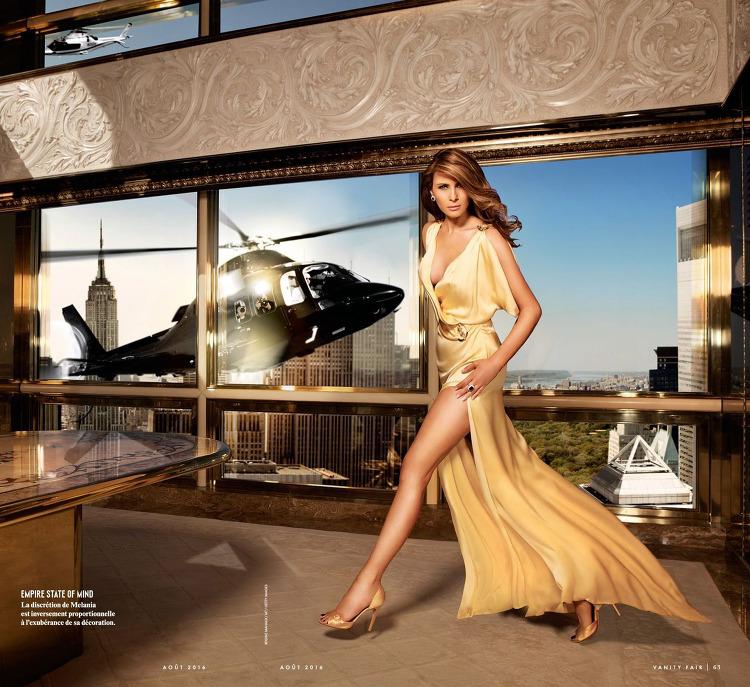 Model, Fashion designer, @ Donald & Melania Trump - Vanity Fair France ...