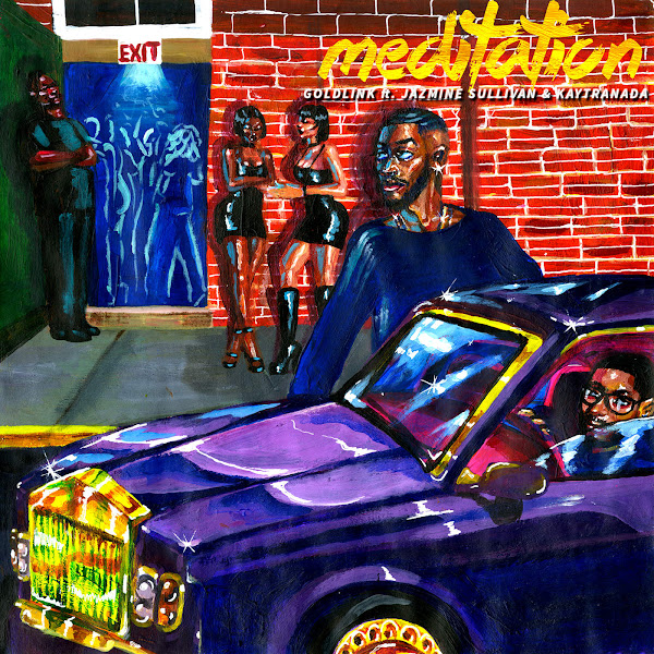 GoldLink - Meditation (feat. Jazmine Sullivan & KAYTRANADA) - Single Cover