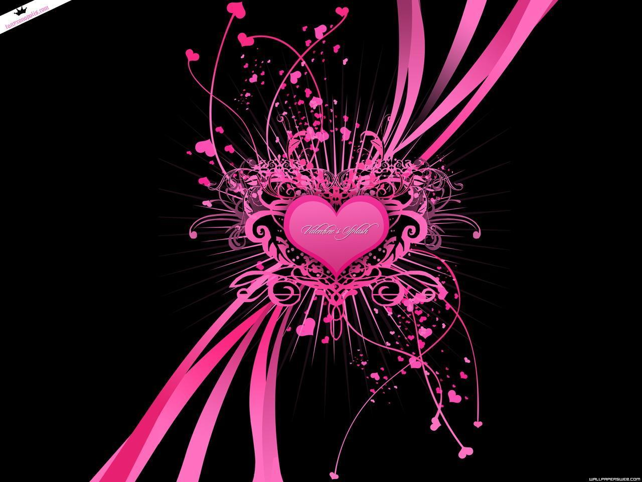 Pink Heart Wallpaper Hd Wallpaper Backgrounds Cute Heart And Love Wallpapers With