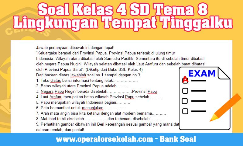 4 sd pdf soal kelas bank