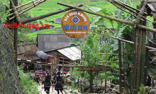 Đến các bản làng Sapa tham quan