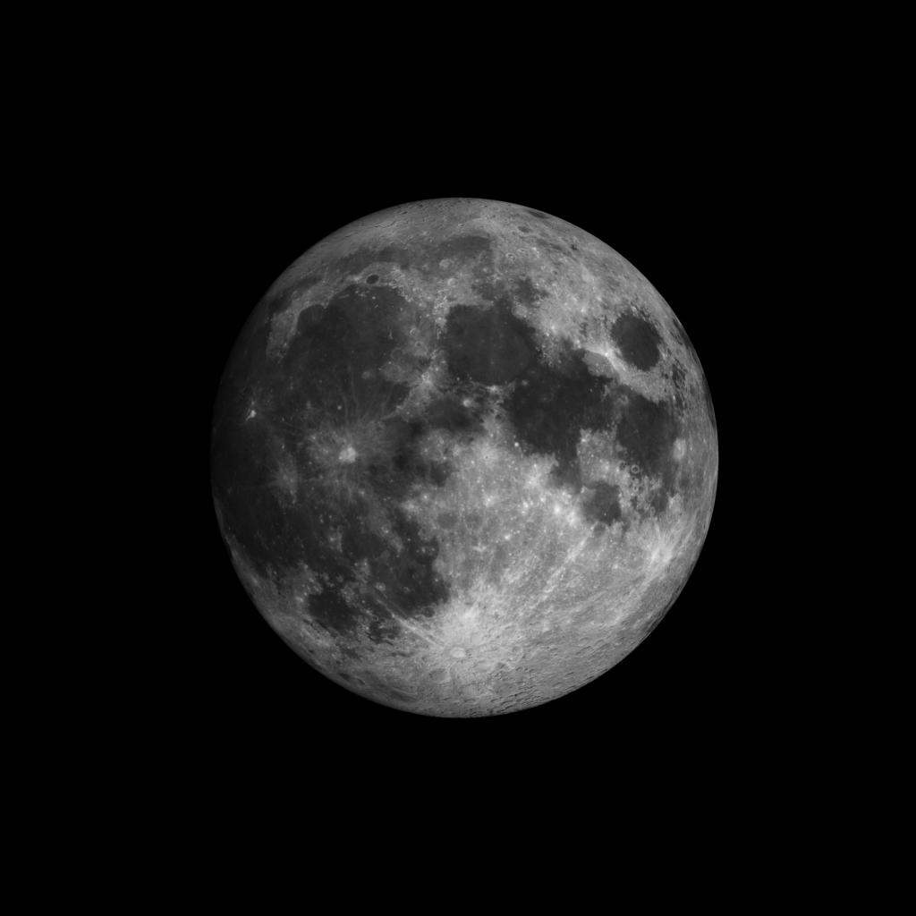 Moon 98 percent full tonight