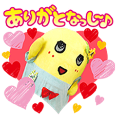 Funassyi's Pop-Up Voiced Stickers
