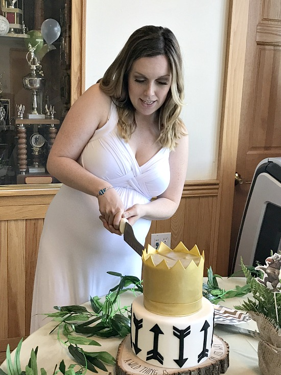 where the wild things are cutting the cake