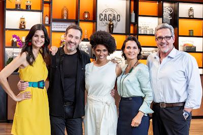 Carol Ribeiro, Alê Costa, Alexandra Loras, Mônica Burgos e Fabrizio Fasano - Divulgação/Band