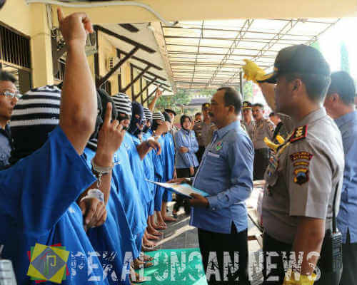 14 Tersangka Shabu Dan Pil Koplo Diringkus Jajaran Satresnarkoba Polres Batang Dalam Kurun Waktu 2 bulan