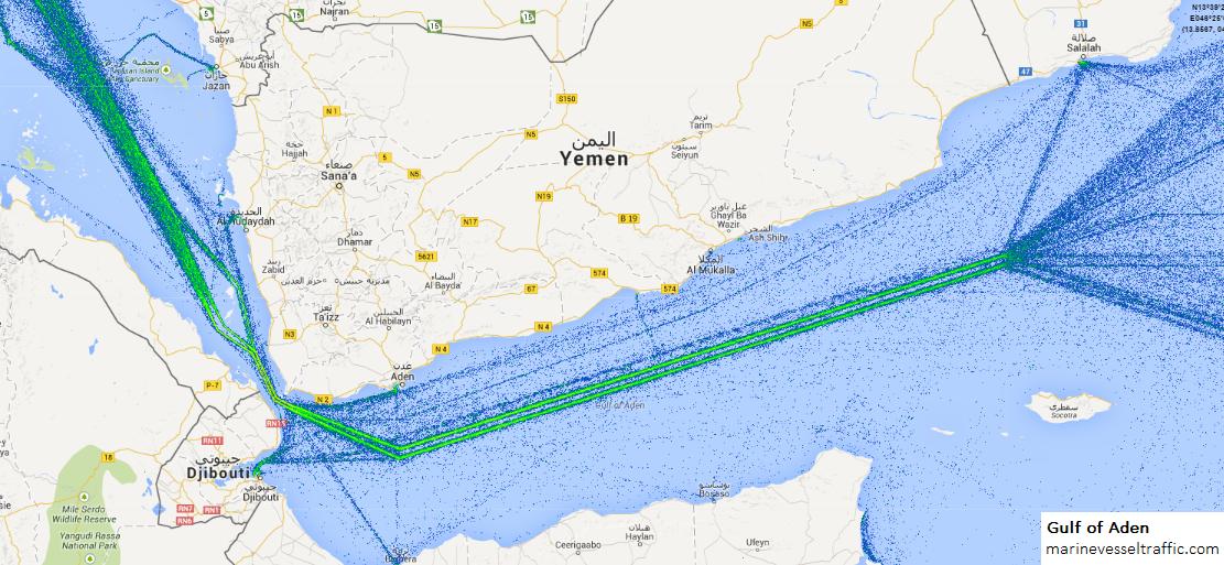 GULFS SHIP TRAFFIC AIS | Ship Traffic