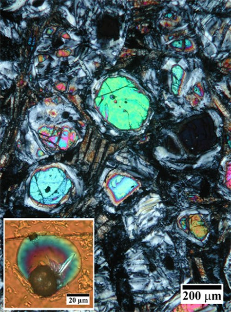 Minerals in volcanic rock offer new insights into the first 1.5 billion years of Earth's evolution