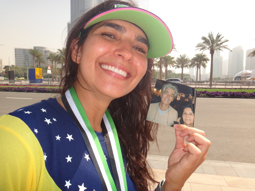 Como é correr em Dubai