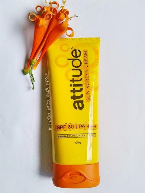 Amway Attitude Sun Screen Cream SPF 30 | PA +++ Review