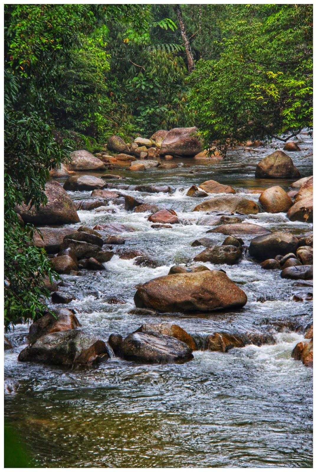 Mandi sungai di Bukit Kutu, Kuala Kubu Bharu 4