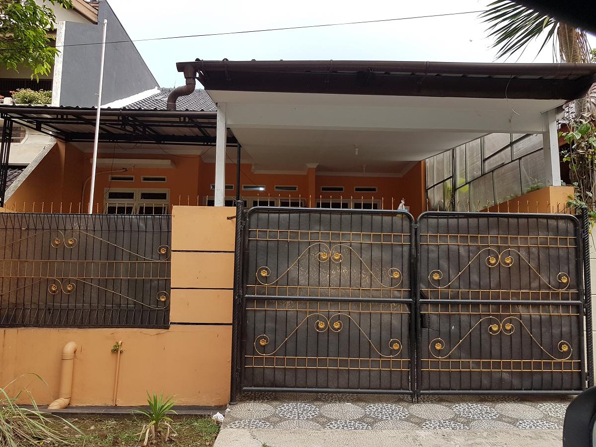 Hasil proyek Renovasi-pengembangan rumah 1 Lantai milik Ibu Retno & bpk Vidi di perumahan Kemang Asri, Bogor, Tahun 2015