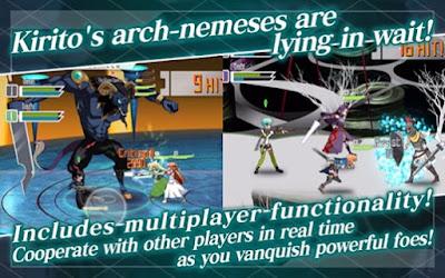 Akhirnya Versi Global Dari Sword Art Online : Memory Defrag Dirilis!