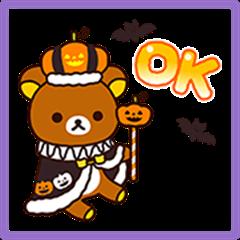 Rilakkuma's Autumn Stickers
