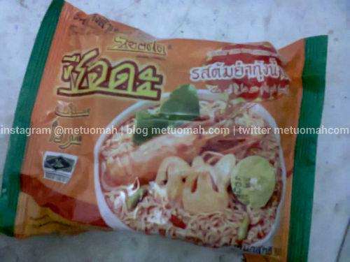 Bagaimana Mie Instan Rasa Tom Yum Udang dari Thailand?
