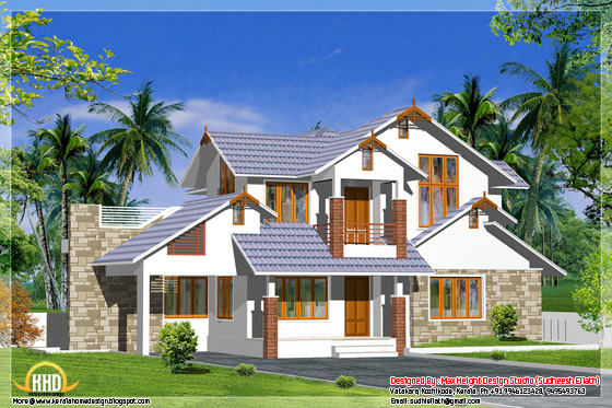 2950 square feet Kerala home design
