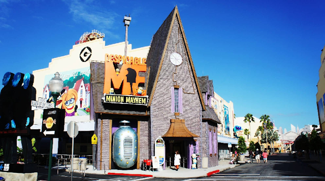 Brinquedo dos Minions na Universal Studios em Orlando