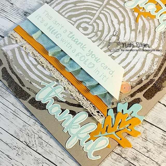 Newton's Nook Designs Thankful Thoughts Set - Naki Rager