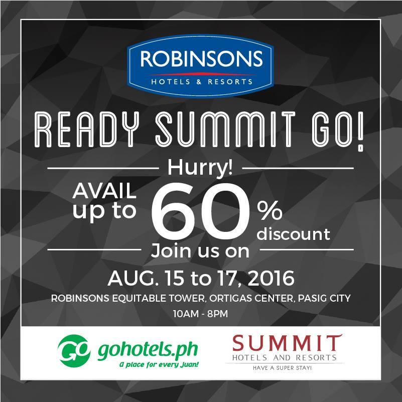 Go Hotels X Summit Room August 2016