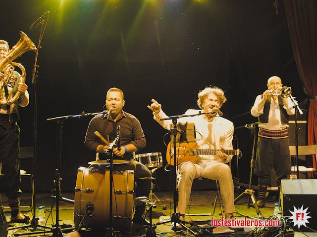 Goran Bregovic en la Sala Apolo en Barcelona