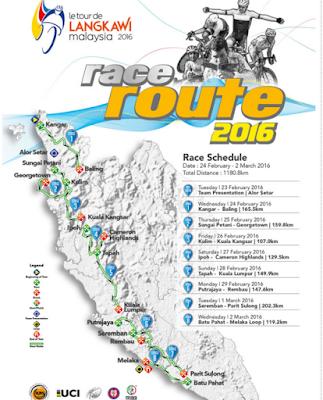 le tour de langkawi 2016, state 2