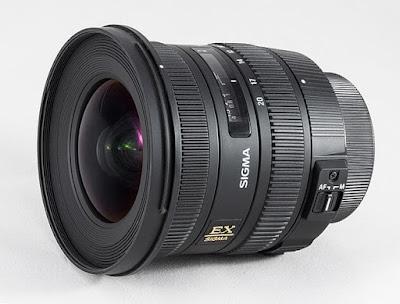 lensa sigma 10-20mm F/3.5-5.6 EX DC HSM