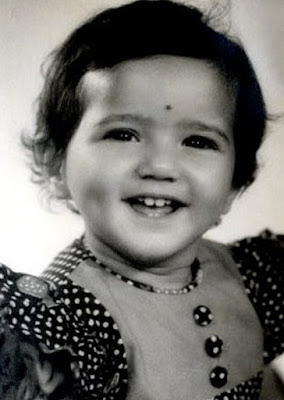 preity zinta childhood pics