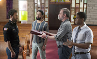 Justin Theroux, Kevin Carroll, Christopher Eccleston and Jovan Adepo in The Leftovers Season 3 (5)