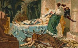 Muerte de Marco Antonio y Cleopatra