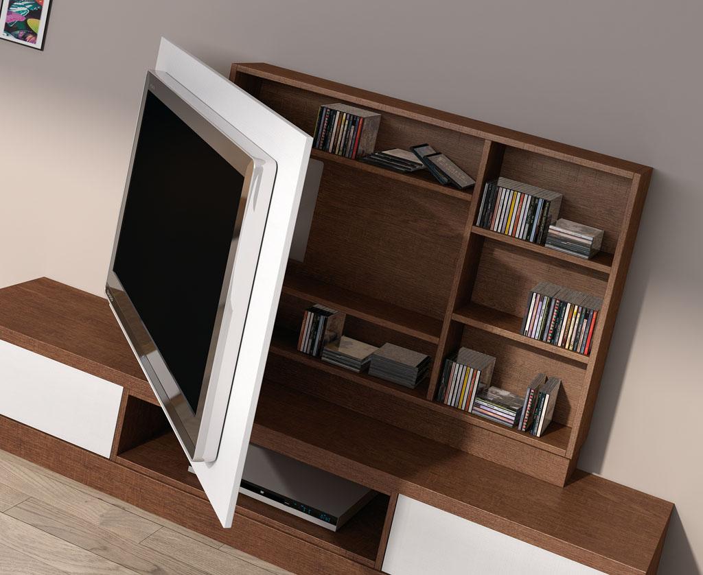Informaci n de mobiliario muebles de television formas y - Muebles para almacenar ...