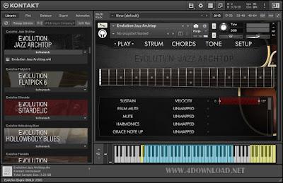 Orange Tree Samples - Evolution Jazz Archtop Full vesion