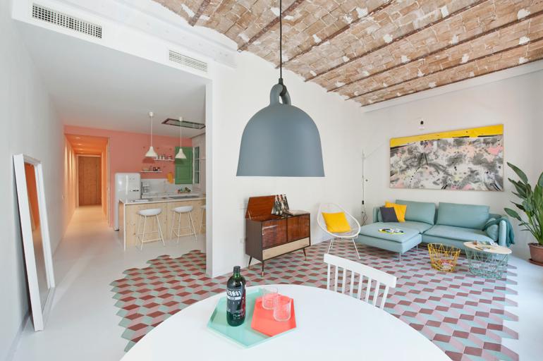 apartamento colorista