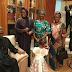 MPNAIJA GIST:President Buhari arrives in Aso Rock, pictured with his wife, Aisha and Dolapo Osinbajo