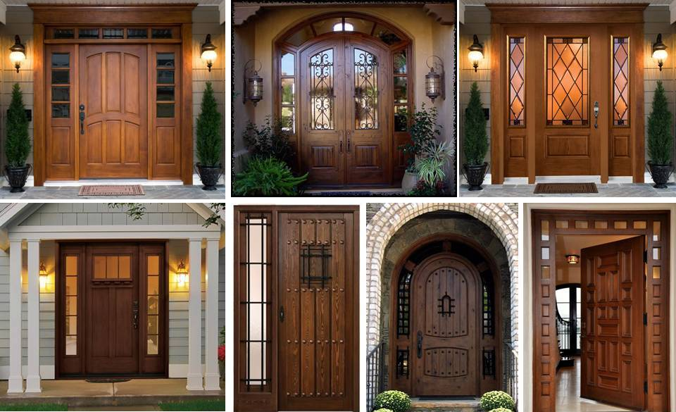 40 Lovable Handcrafted Solid Wood Exterior Front Entry Doors