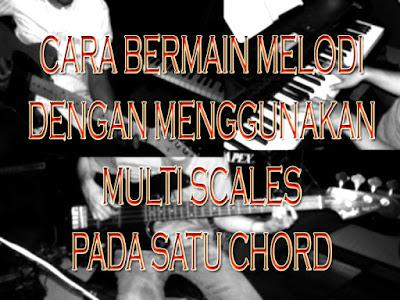 belajar melodi gitar, piano, bass, cara bermain melodi gitar, piano, bass