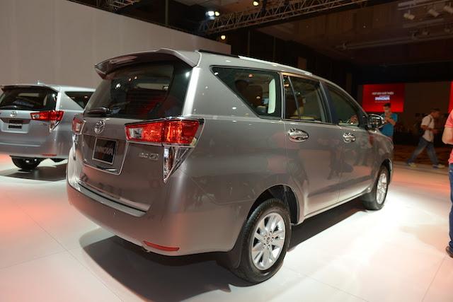 Innova 2016 vẫn giữ nguyên 3 phiên bản E, G và V như trước đây
