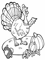 Thanksgiving Turkey Coloring Pages For Kids