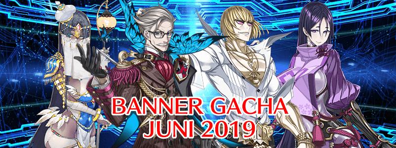 Banner Gacha di Bulan Juni 2019 (FGO NA)