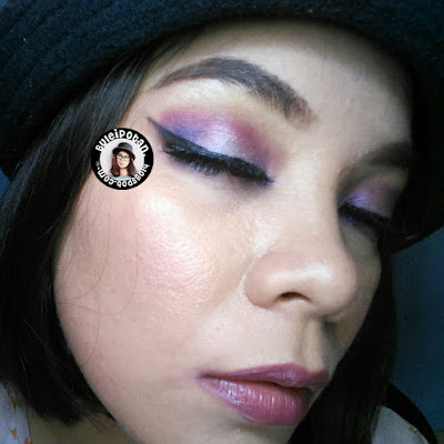 Vibrant Purple Eyemakeup with BH Cosmetics Take Me to Brazille Pallete