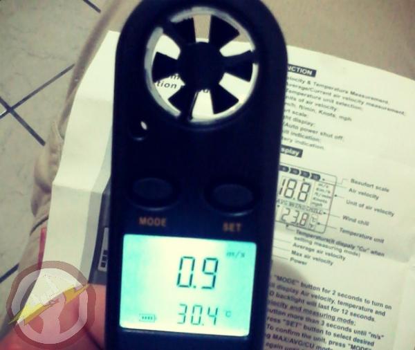 Anemômetro Portátil