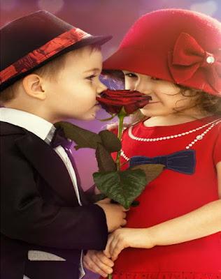 Aşk-dostluk-in-çocukluk