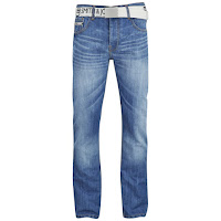 Smith & Jones Men's Furio Straight Fit Jeans - Light Wash
