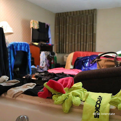 48 No Interstate: Long-Term Travel: How to Pack & Doing Laundry in a Hotel