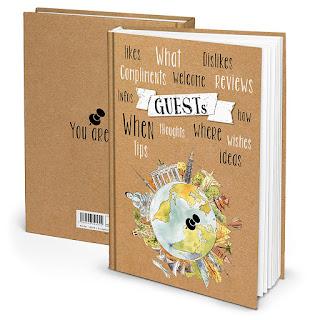 libro ospiti B&B