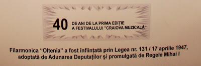 40 de ani de Craiova Muzicala